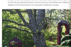 Arts plastiques Un Jardin en suspension